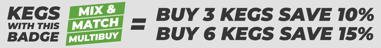Multibuy Keg Discount
