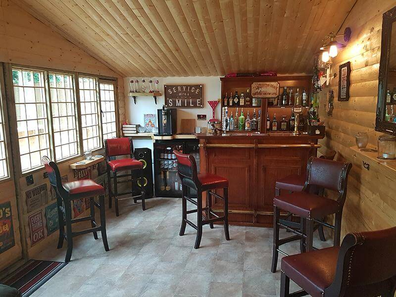 Is this the ultimate beer shed?