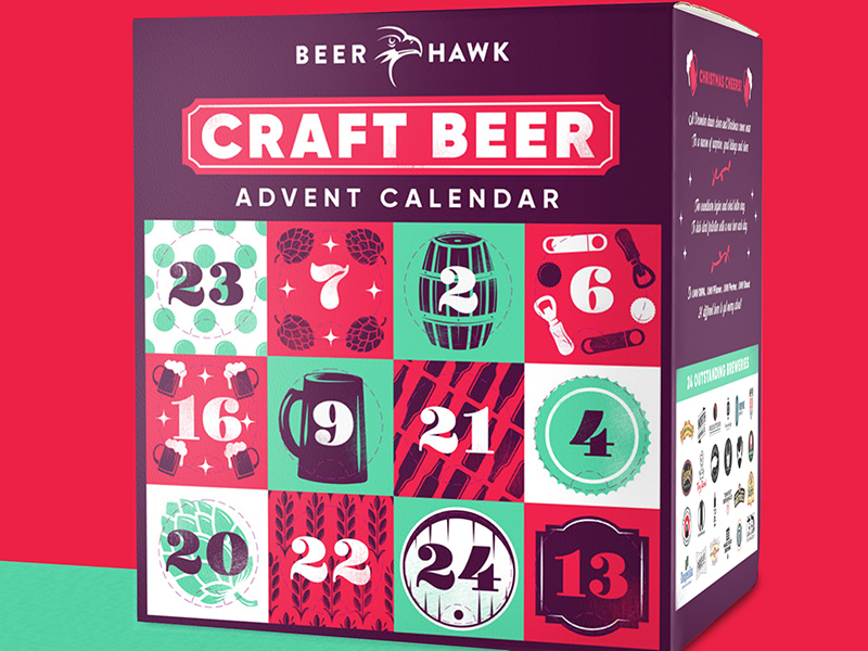 Beer Hawk's Advent Calendar is back... and WOW!