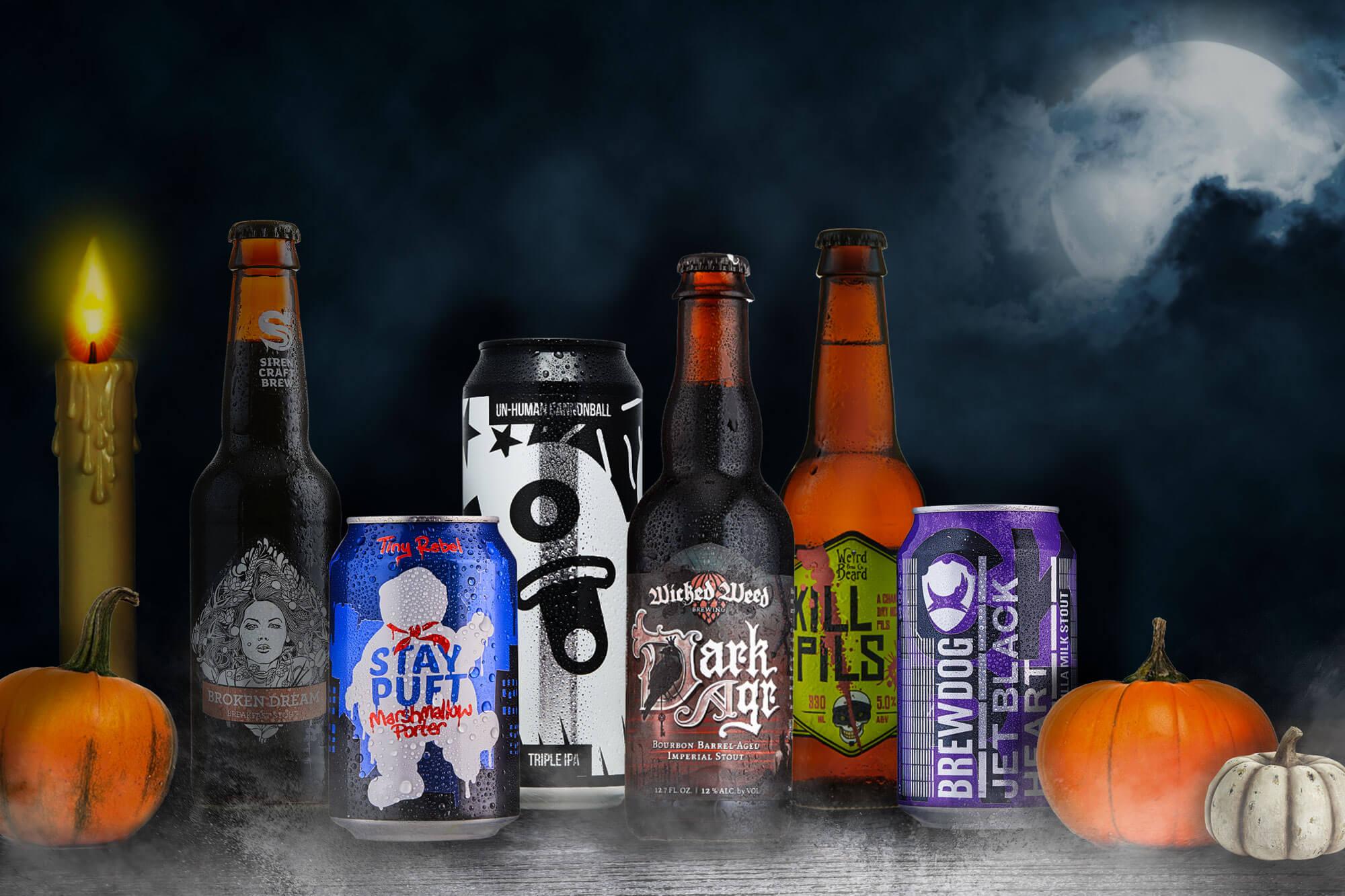 Spooktacular Halloween Beer