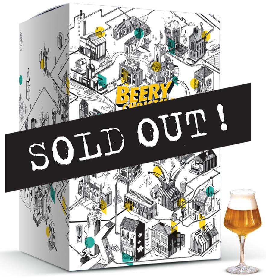 Beer Hawk Beer Advent Calendar 2020 - Beery Christmas - Sold Out