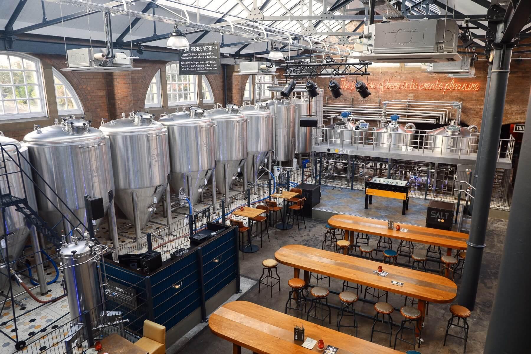 Salt brewery