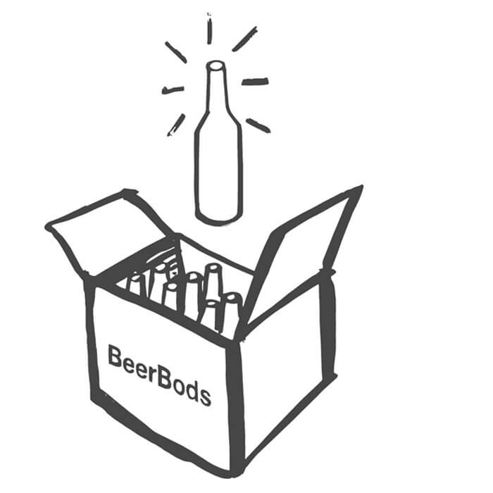 BeerBods Monthly Beer Club Subscription Box