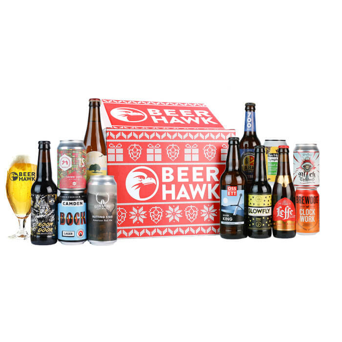Classic Christmas Crate - Mixed Beer Case