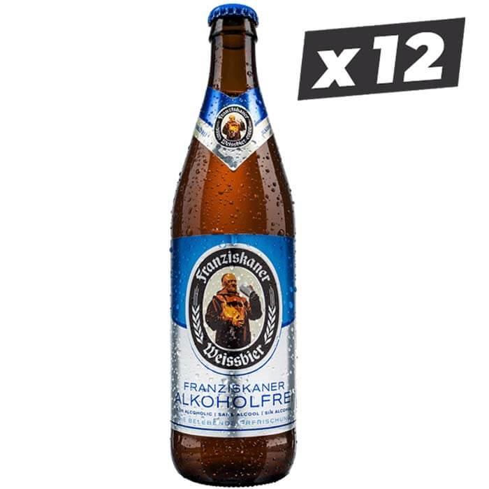 Franziskaner Weissbier Alkoholfrei 12 Pack