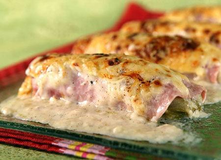 ham and endive gratin