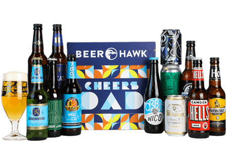 Father's Day Lager Beer Crate