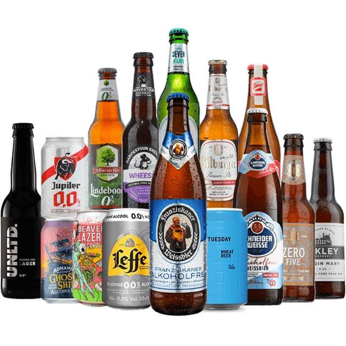 Low and No Alcohol Mixed Case - 15 Pack AF Beer
